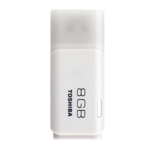 Memoria USB TOSHIBA 8GB USB2.0 - Blanco