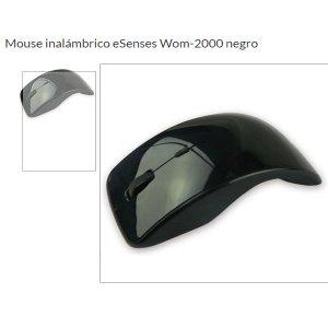 MOUSE OPTICO INALAMBRICO ESESNSES CONEXION USB WOM-2000 Blister Nuevo