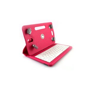 """Estuche con teclado giratorio universal 7"""""""