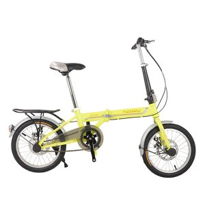 Bicicleta plegable Yizu YZ 035 Rin 20 Doble freno de disco